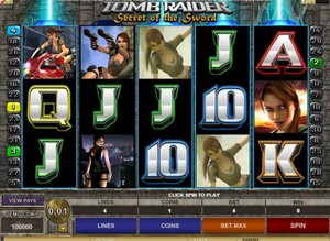 Tomb Raider II Slot